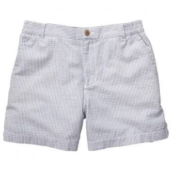 Seersucker Short - Navy
